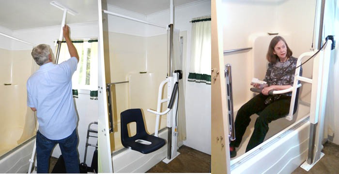 Radcliffe Remodel – Product Testing: Pro Bath Chair Lift